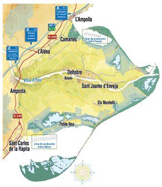 Las bahías del Delta del Ebro, Fangar y Alfacs 1